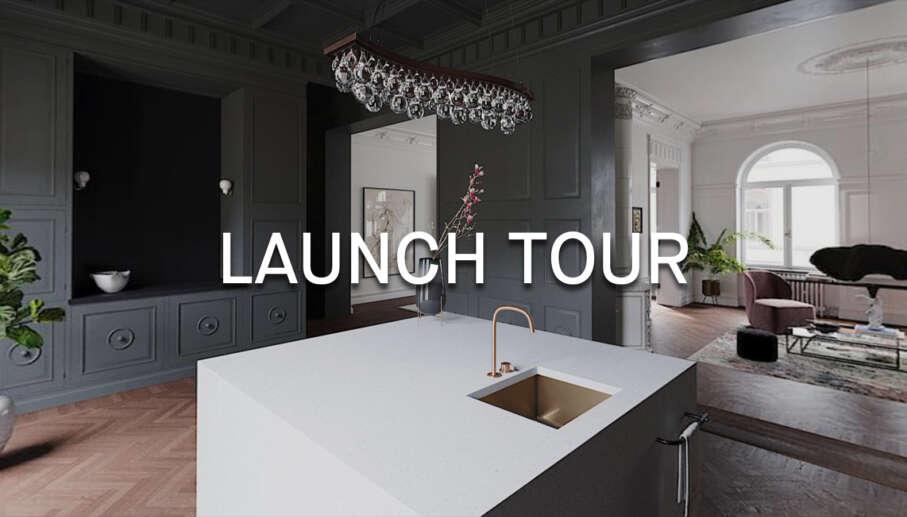 VR TOUR > Stockholm Apartment